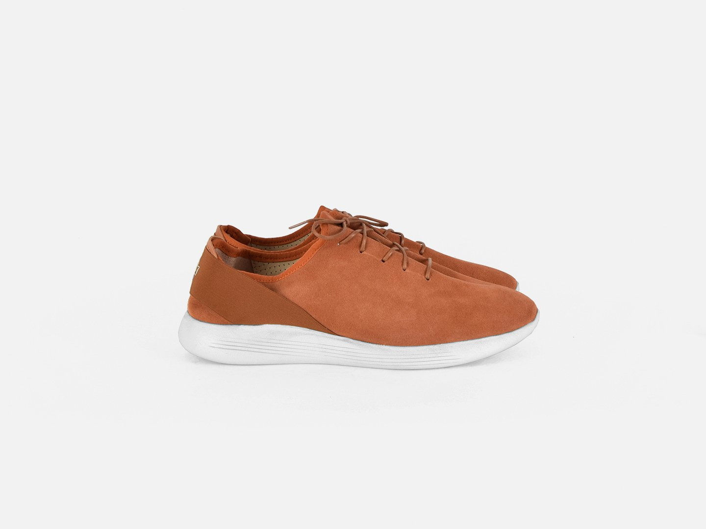 pregis pro sneaker orange suede extralight sole made in Portugal