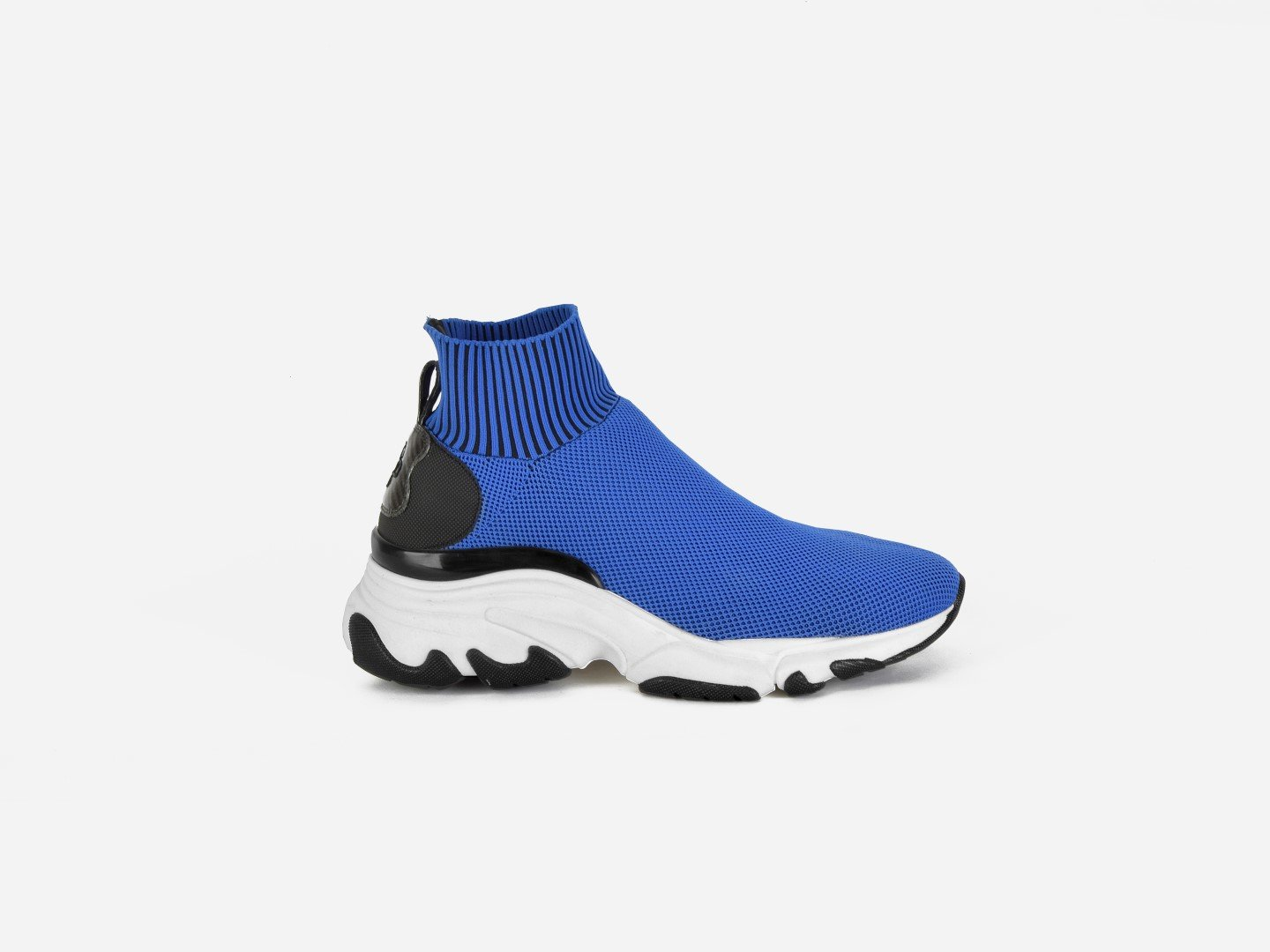 pregis ryder blue sock oversized runner sneaker made in Portugal